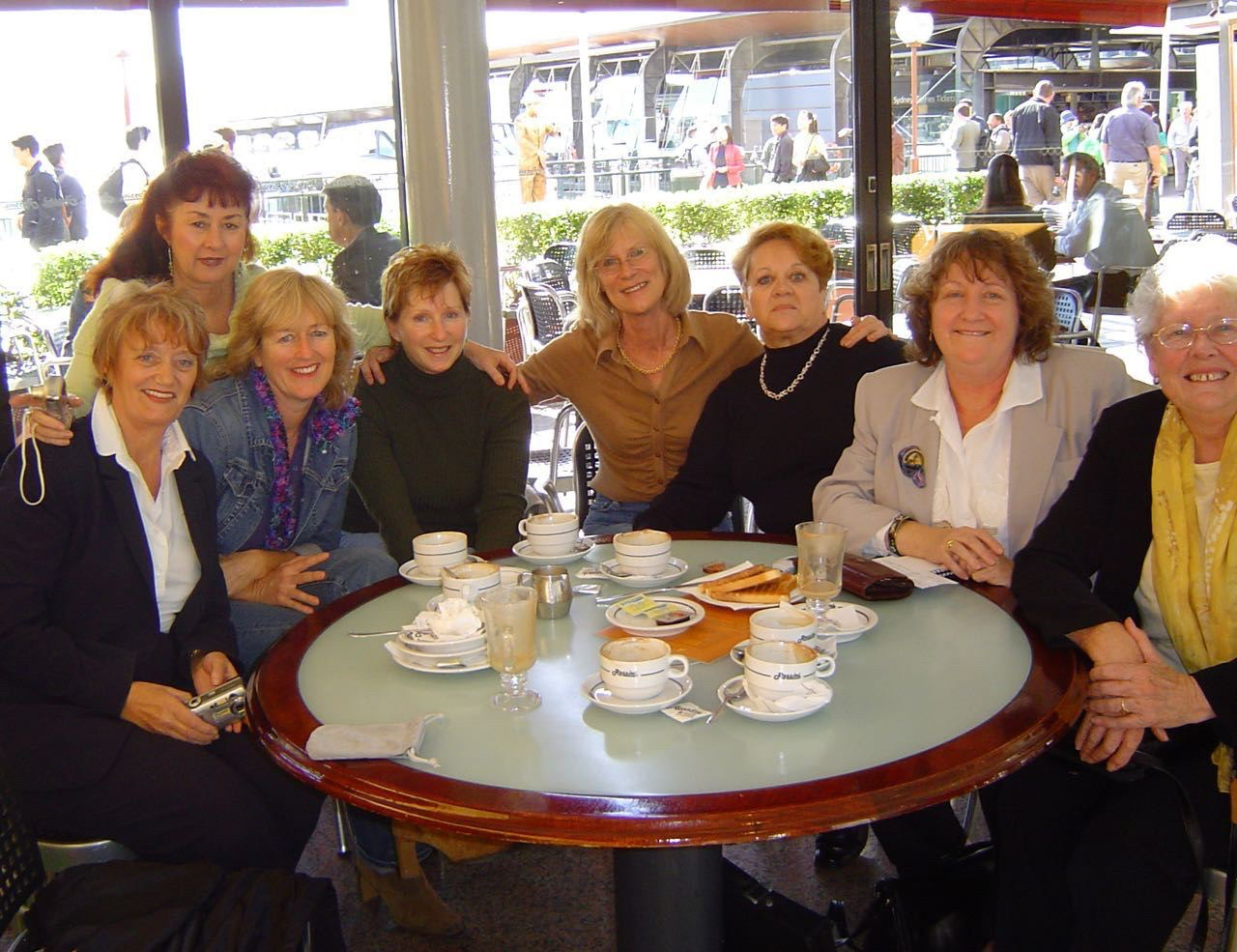 Students of the International College met at Circular Quay in Sydney